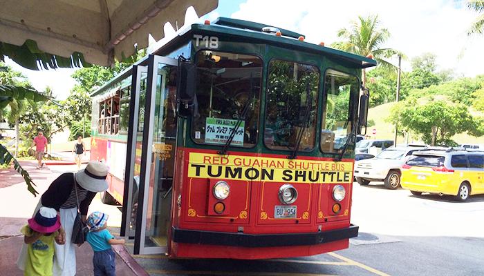 """グアムのシャトルバス"""""""